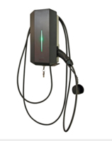 GARO WALL MOUNTED CAR CHARGE POINT  FIXED CABLE TYPE 2 3.7-22KW DC LEAKAGE CONTROL BUILT IN