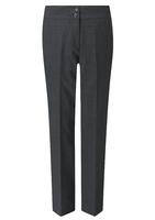 Charcoal Carla Ladies Slim Leg Trouser