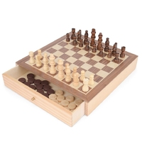 2 In 1 Chess & Draughts