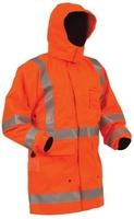 Bison Rigour Hi Vis TTMC-W Fire Retardant Fleece Lined Jacket