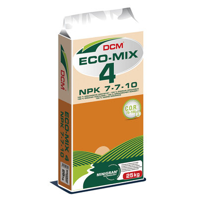 Eco-Mix 4 Organic Fertiliser 7-7-10 25kg