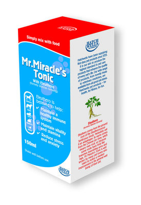 Hatchwell's Mr. Miracle's Tonic Mixture 150ml x 1