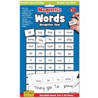 Magnetic Words Age 4-5 activity set - front of packaging