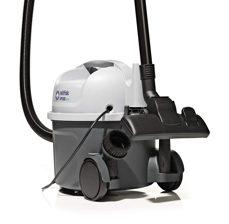 Nilfisk VP300 Cannister Stlye 800 Watt Motor Vacuum Cleaner With Hepa Filter Genuine