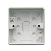 MK K2181WHI Logic Plus Box 1G Surface PVC 32mm WHI