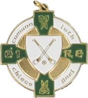 34mm Hurling Medal (Gold / Green)