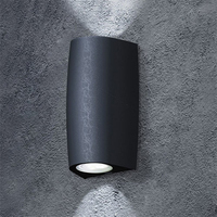 Fumagalli Marta 90 Up/Down LED Wall Light Black