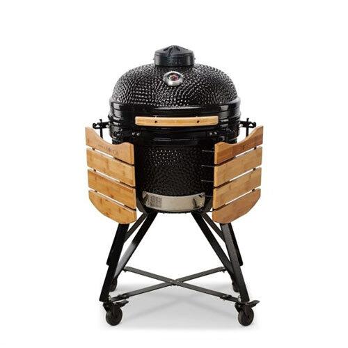 Kamado Black Media Classic 52cm BBQ Smoker 3