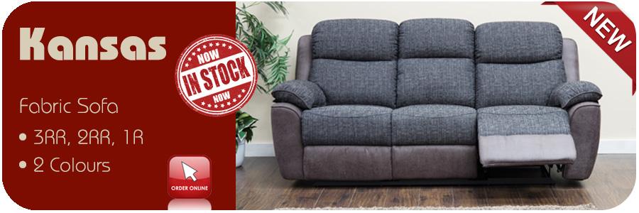 Kansas Leather Sofa