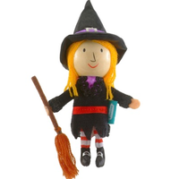 Witch Finger Puppet