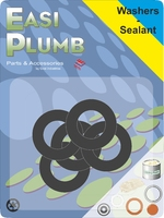 Easi Plumb 5 Pce Spare Appliance Hose Washers