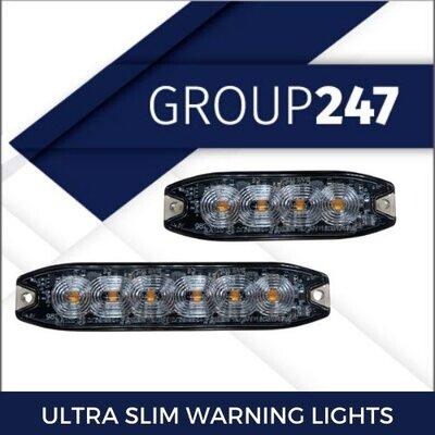 ULTRA SLIM DIRECTIONAL WARNING LAMPS