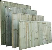 Closeboard Panel Pressure Treated 1.83m(W) x 1.65m(H)