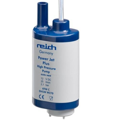 Reich Powerjet 25L Submersible Pump 12v High Pressure Pump 2.1 Bar (25L/Min Pump Rate)