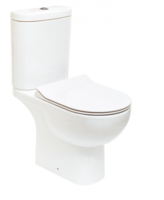 SONAS TONIQUE CLOSE COUPLED WC W360 X H830 X D625 MM WITH CISTERN AND SLIM S/C SEAT