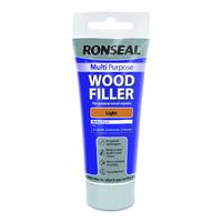 Ronseal Multi Purpose Wood Filler Tube 100g Light