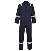 Portwest Flame Retardant Antistatic Coverall Navy