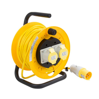 25mtr 3X1.5 16A 110V Cable Extension Reel