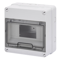 Gewiss 8 MOD Surface IP55 Enclosure