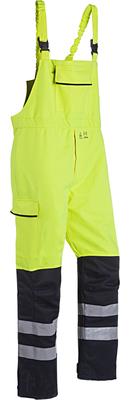 Sioen Pedley Hi-vis bib & brace trousers with ARC protection (Cl 2)