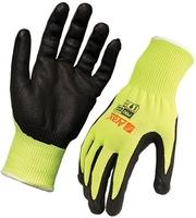 Arax Gold Nitrile Foam Dip Cut 5 Glove