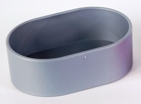 Armitages Plastic Oval Bowl x 8