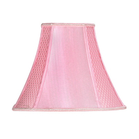 "12"" Square Shade Round Corners Pale Pink"