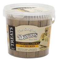 Davies Chomping Chews Chicken 1.4kg Tub