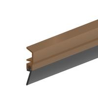 Ellen Basic PVC Door Strip Brown