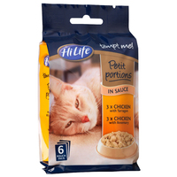 HiLife Mini Pouch Petit Portions - Chicken in Sauce 85g 6pk x 4
