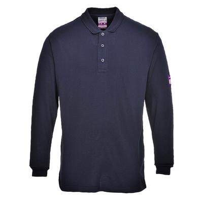 Portwest Flame Retardant Antistatic Polo Shirt Navy