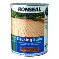 Ronseal Decking Stain 5L Golden Cedar