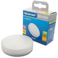 Megaman 5W LED GX53 Lamp 2800K