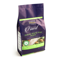 Fish4Dogs Finest Puppy Ocean White Fish Small Kibble 1.5kg