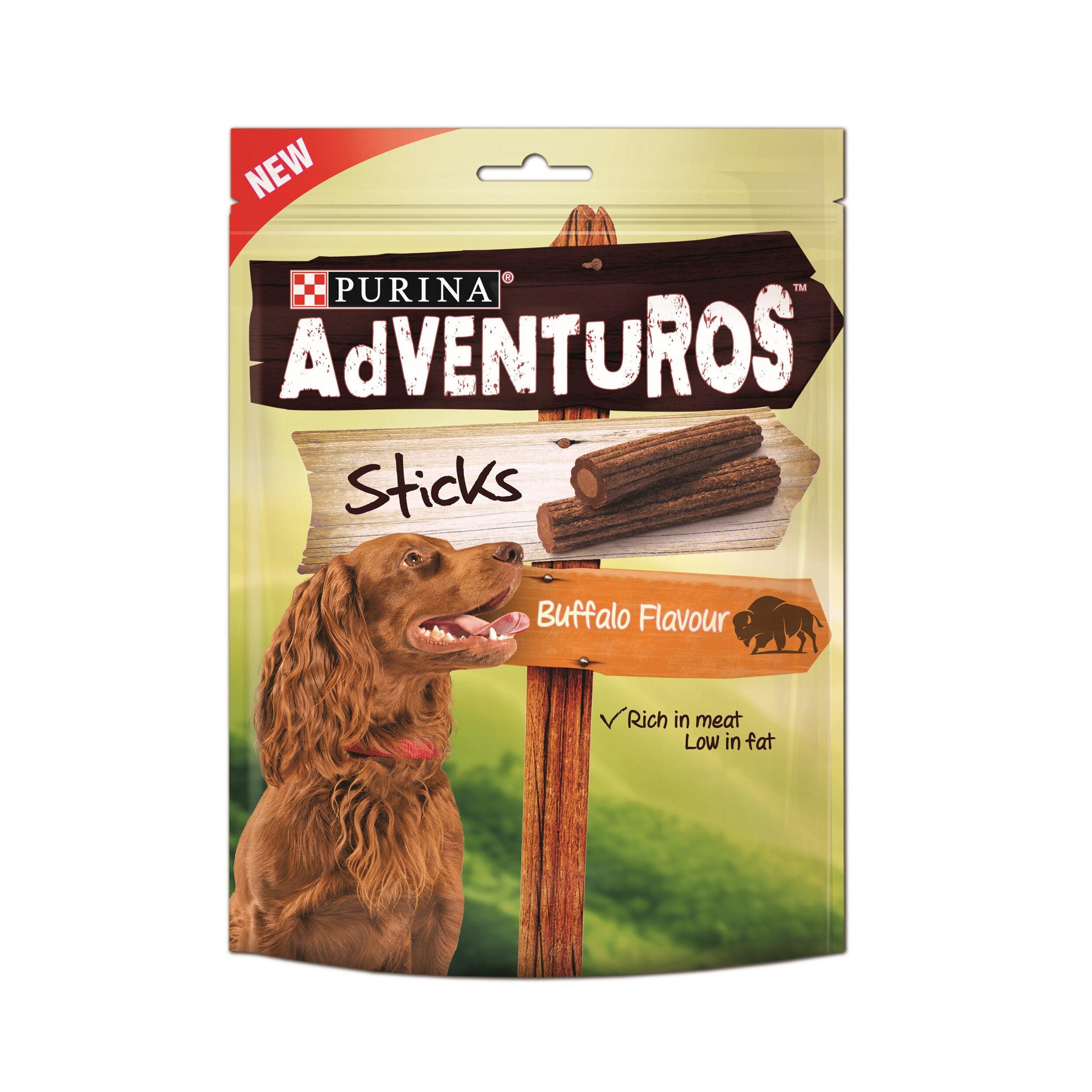 Nestle Purina Adventuros Sticks Dog Treats 6 x 120g
