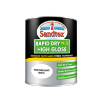 Sandtex Rapid Dry Gloss Brilliant White 750ml