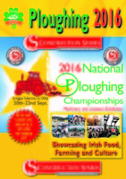 National Ploughing Championships Tullamore 20th - 22nd Sept