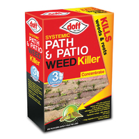 Doff Concentrated Path & Patio Weedkiller 3 sachet