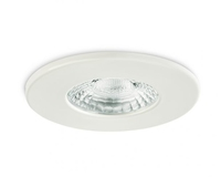 IP20 GU10 Fire Rated Downlight Fixed White