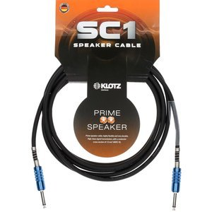 Klotz SC1-SP prime speaker cable 2 x 1,5 mm² with speakON F and Neutrick jacks