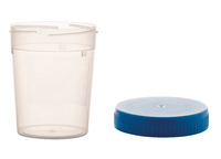 150ml Container Pp, With Separate Cap