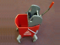 BUKW3100S 31L RED JANITORIAL BUCKET