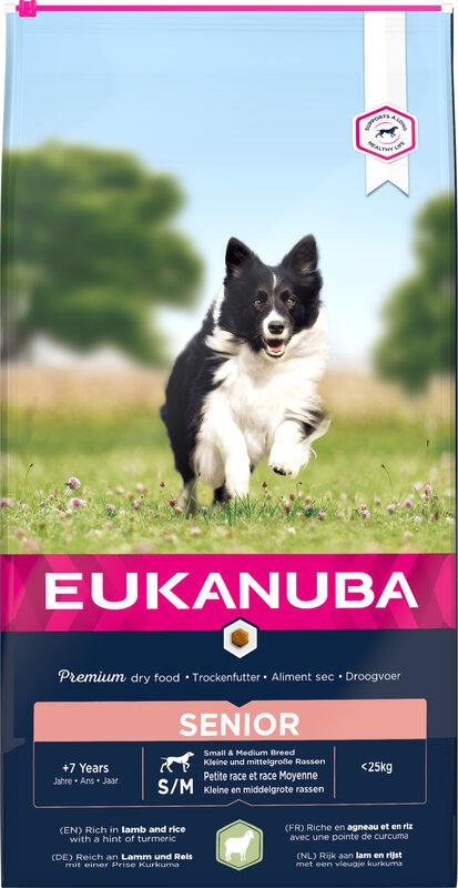Eukanuba Mature with Lamb & Rice 12kg