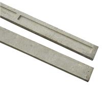 1.83m Concrete Gravel Board Long Recessed 150x1830mm
