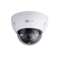 IC Realtime 6MP ePoE IP H.265E 7~35mm Motorised 100m IR IK10 Dome Camera with Audio/Alarm I/O