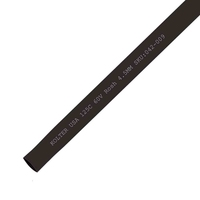 Heat Shrink | Black 4.5mm Diameter 200M Reel