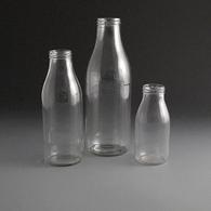 Glass Milk & Juice bottles