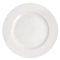 """Pure White Wide Rim Plate 11.5""""(29cm)"""