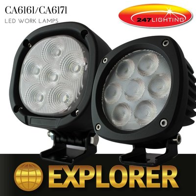 CA 6161 | CA6171 EXPLORER WORKLAMPS
