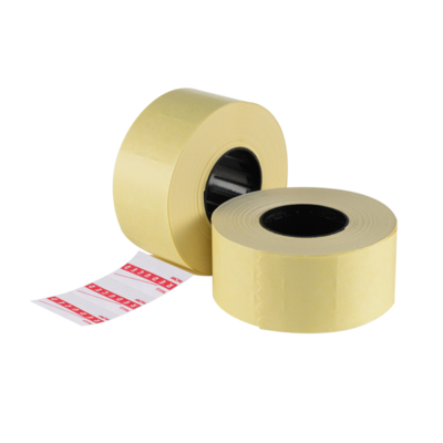LYNX CT7 26x16mm Permanent Labels 'Reduced Was/Now' (Box 30k)